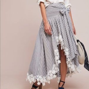 NWT Anthropologie Piccadilly Steele Skirt